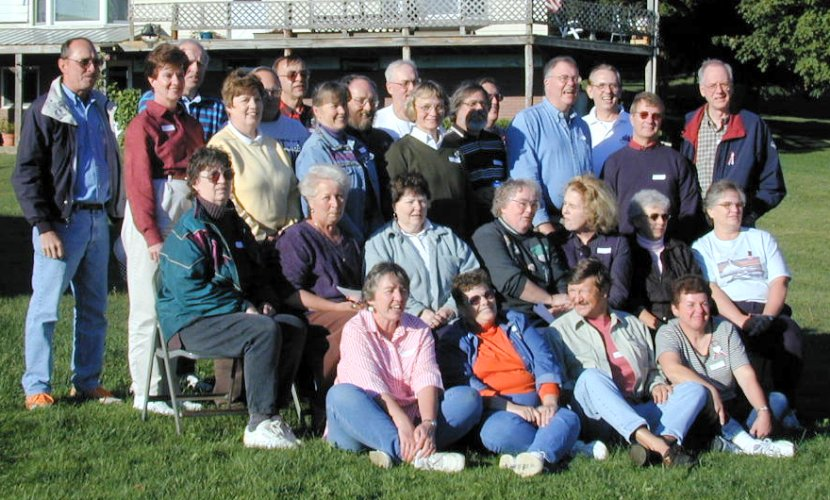 Picture of Class of 1961 reunion