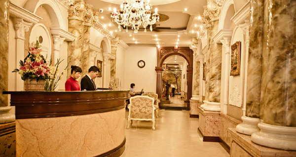 Hanoi City Palace Hotel Lobby