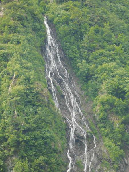 Water Falls near the gold mine