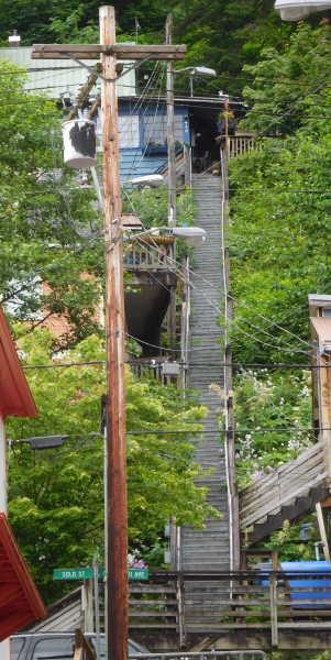 Juneau stairs