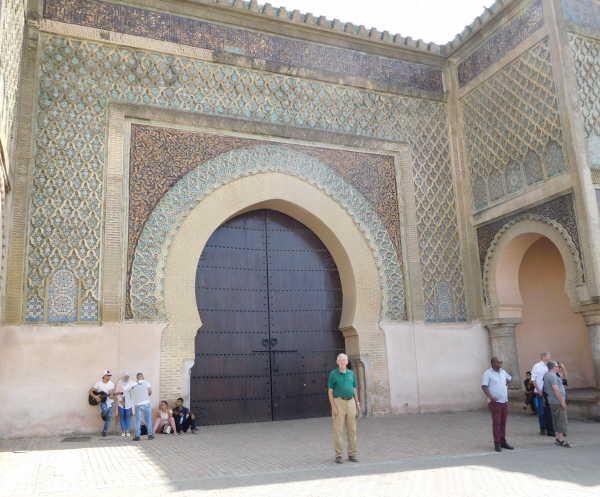 Meknes entrance