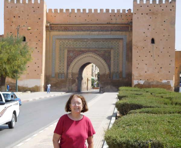 Meknes gate