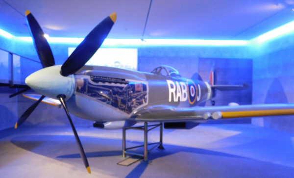 museum had war aircraft on display