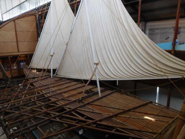 Historical sailboat