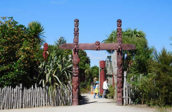 Maori garden in Hamilton