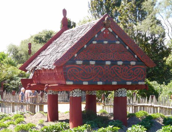 Maori storage shed