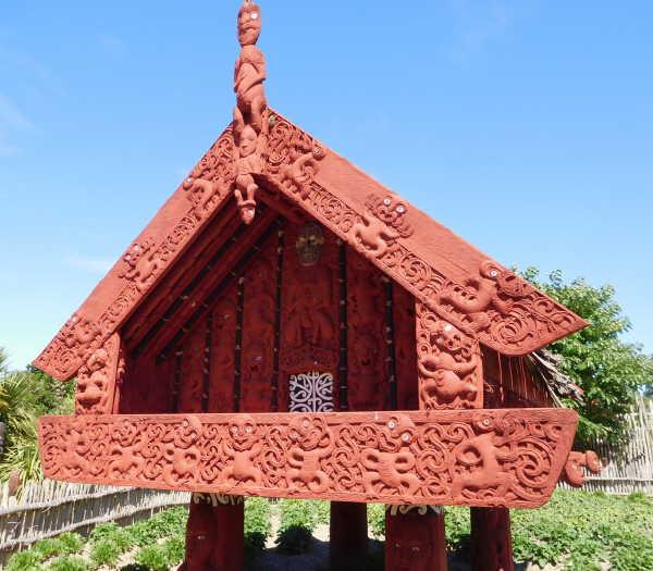 Maori storage front