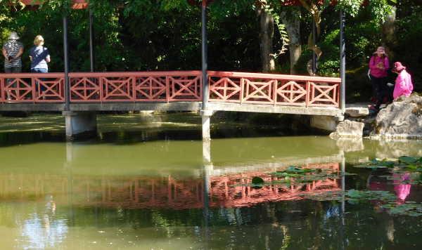 Hamilton Garden Oriental Bridge