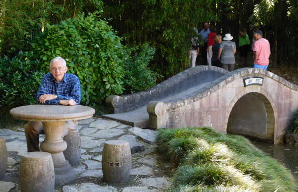 Hamilton Oriental Garden bridge