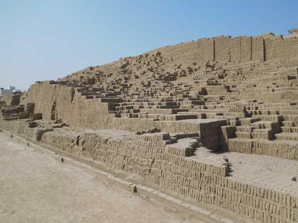 Huaca Picliana - Lima Pyramid