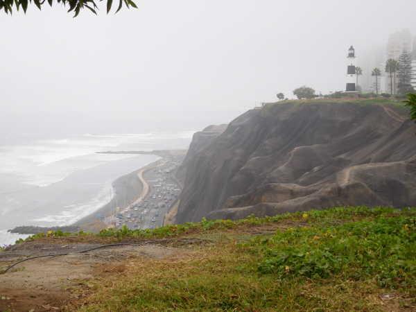 Miraflores cliff
